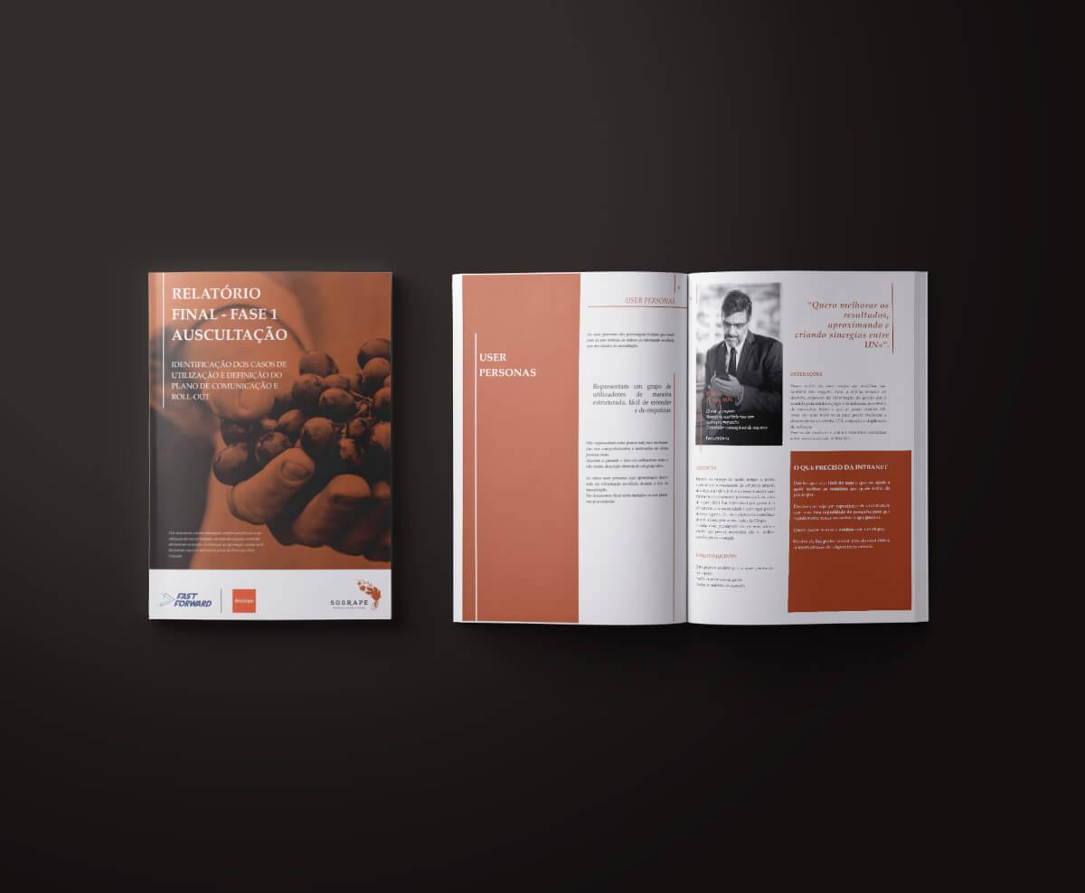 Projeto de Consultoria em Marketing Digital para a Sogrape pela Mind Forward e Devscope