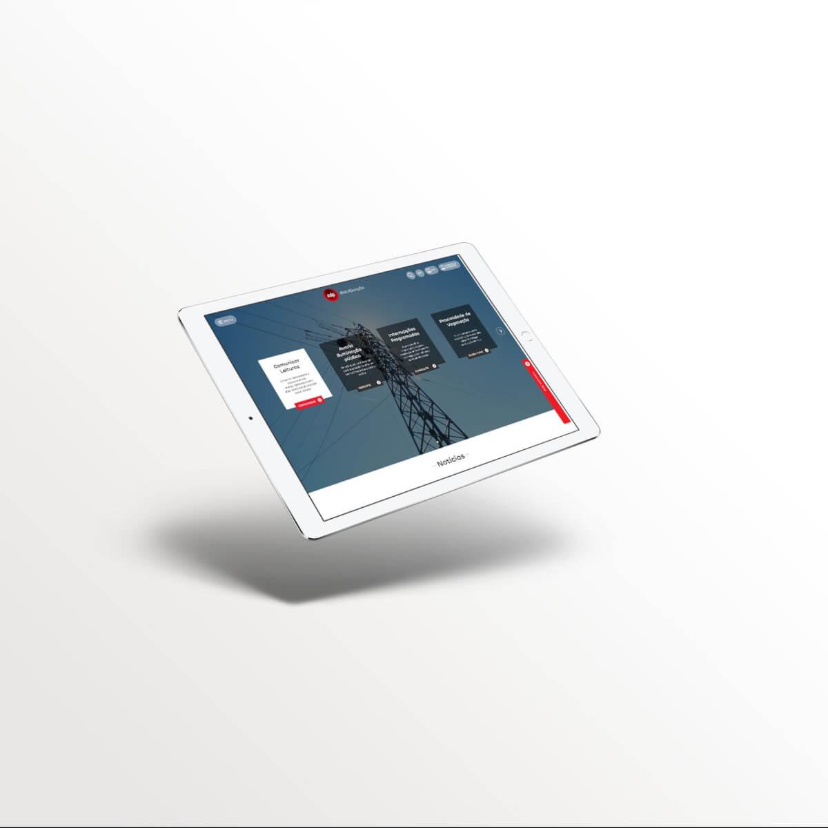 Consultoria para desenvolvimento de novo site EDP Distribuição pela Mind Forward, agência de marketing digital