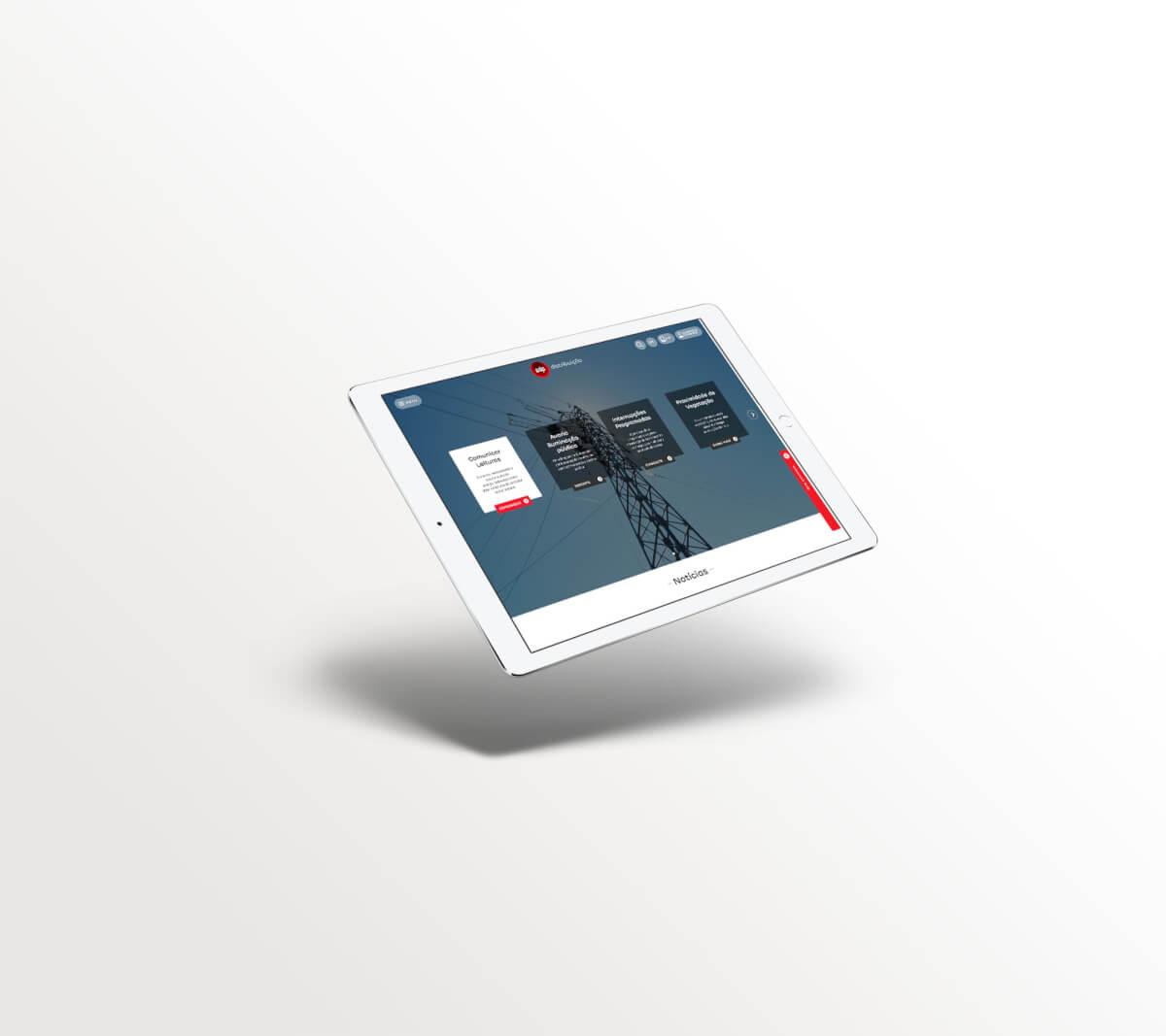 Consultoria para desenvolvimento d enovo site EDP Distribuição pela Mind Forward, agência de marketing digital