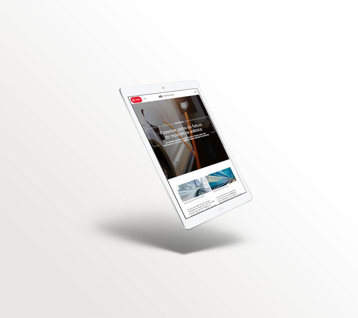 Novo site EDP Distribuição - um projeto de consultoria digital pela Mind Forward