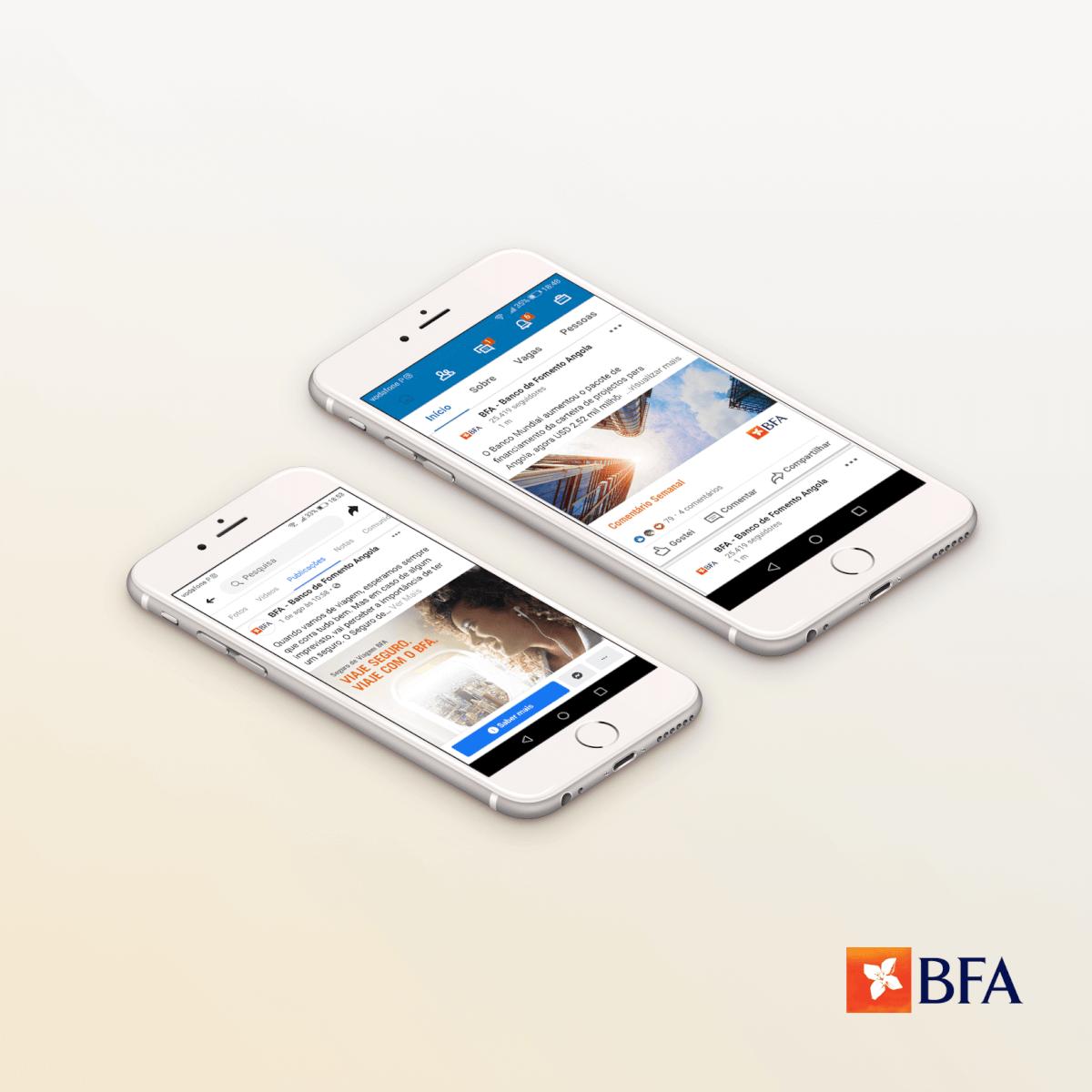 Projeto de Consultoria em Marketing Digital e Redes Sociais para BFA pela Mind Forward, agência de marketing digital