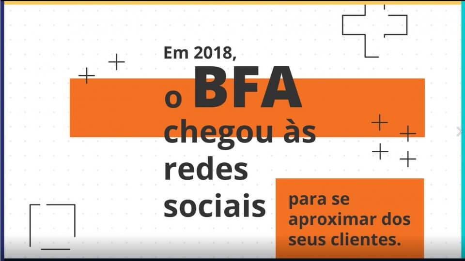BFA nas redes sociais - estratégia para redes sociais