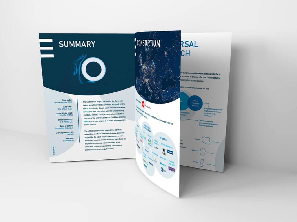 Brochura EUniversal Mockup