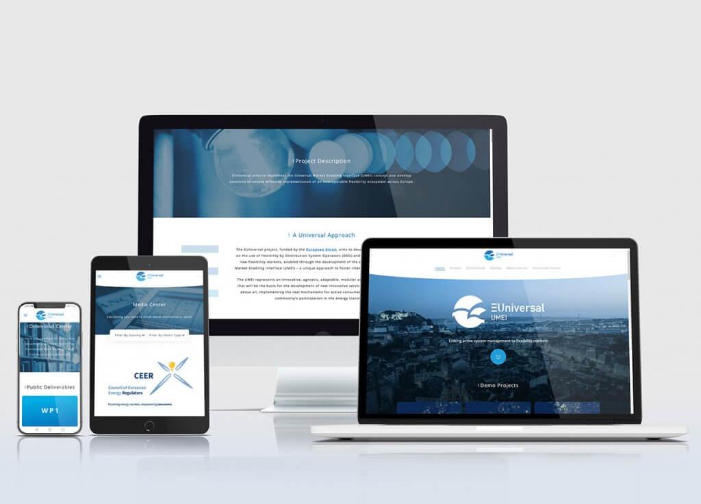 Website Responsive EUniversal