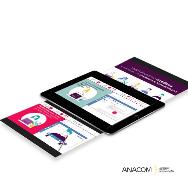 Vídeo Animado Teams para ANACOM, desenvolvido pela Mind Forward, agência de marketing digital