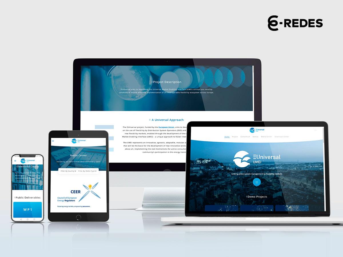 Portfolio Euniversal Website Responsive desenvolvido pela Mind Forward, agência de marketing digital