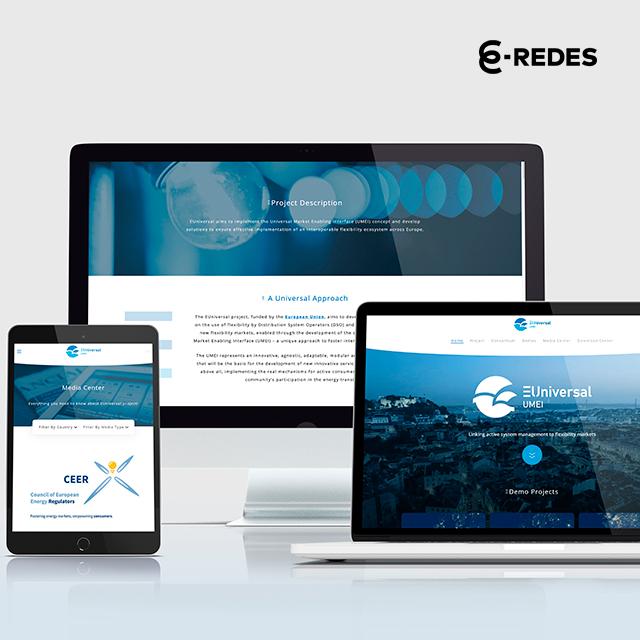 Conheça o projeto EUniversal Website Responsive pela Mind Forward, agência de marketing digital