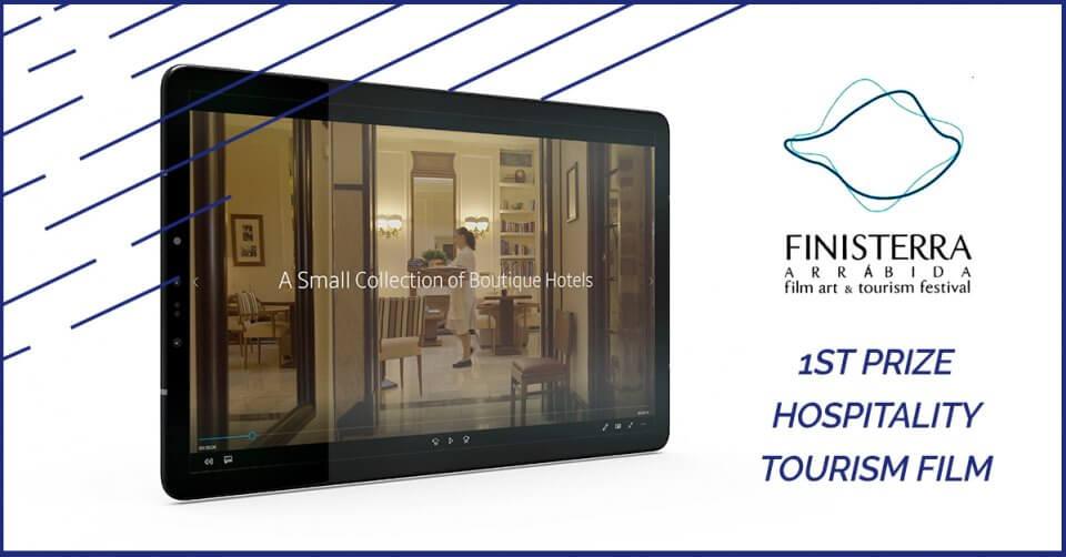 Hotéis Heritage Lisboa vencem prémio Finisterra com filme pela Mind Forward - agência de marketing digital
