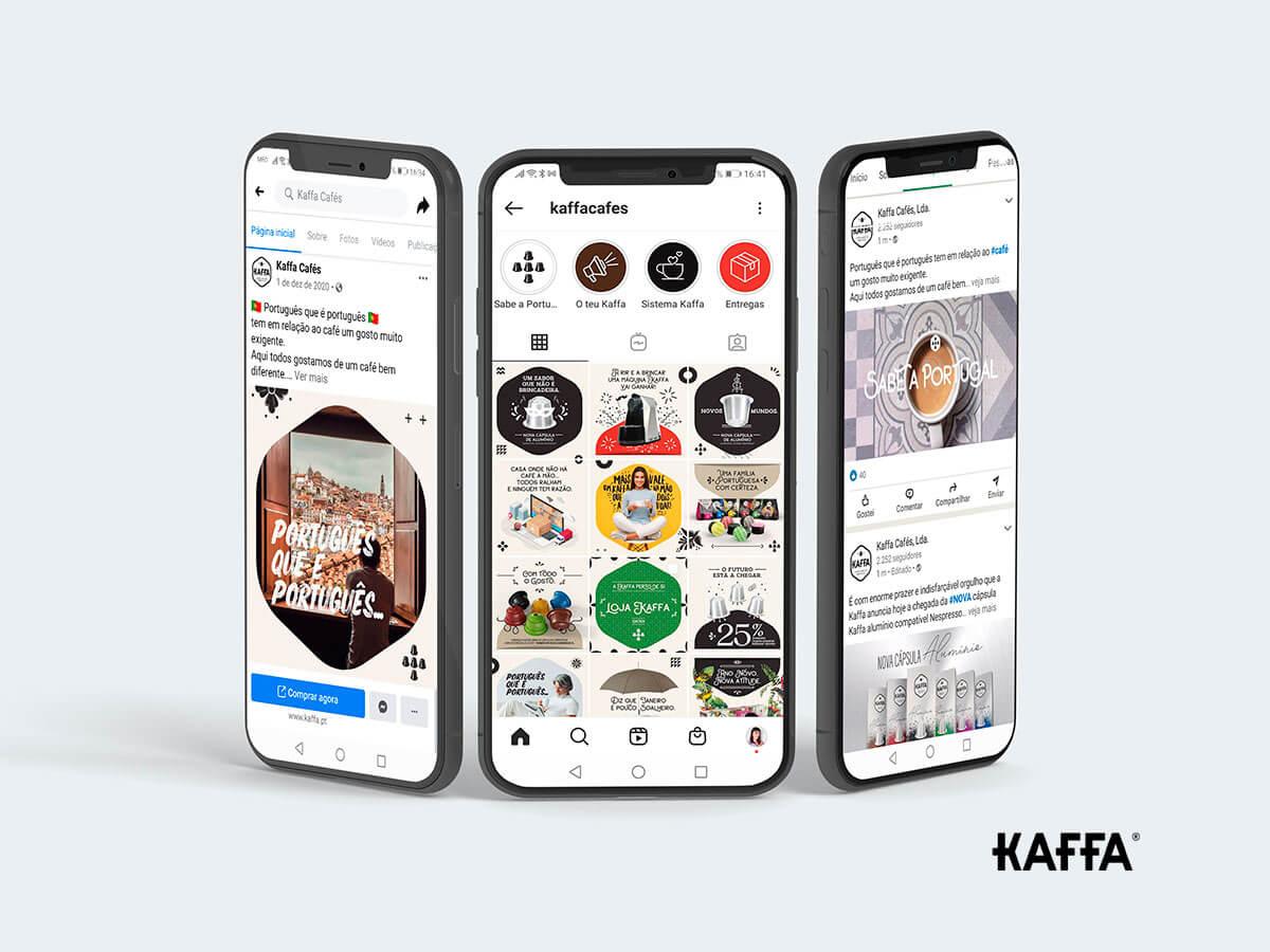 Estratégia de Social Media para Kaffa Cafés - Portfolio Mind Forward
